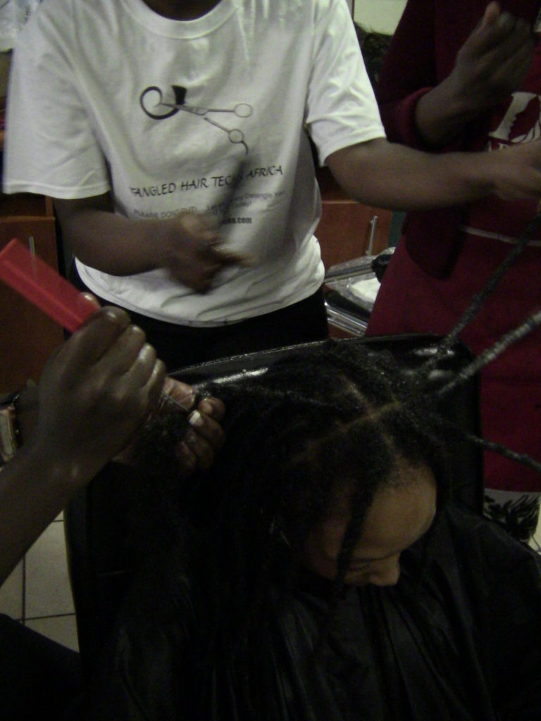 dreadlock removal